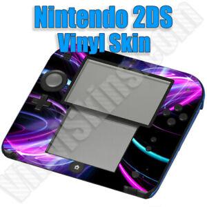 Choose Any 1 Vinyl Decal / Skin Design for Nintendo 2DS - Buy 1 Get 1 Free!