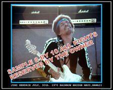 JIMI HENDRIX PHOTO  JULY 70 MAUI HAWAII SUPERB 8x10 AMAZING PHOTO NEW  SALE