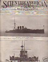 1908 Scientific American Supp Nov 7 - Mauretania, Fish