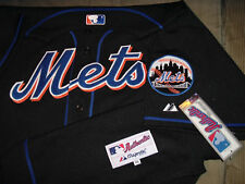 "NEW YORK METS ""AUTHENTIC COLLECTION"" PRO-CUT ""BLACK"" MAJESTIC MLB JERSEY NWT 60"