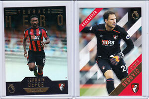 Topps Premier League Gold Soccer 2017/18 Base And Insert Sets - Select Team