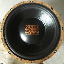 "NEW Old School Xtant 8 Ohm SVC 10"" Subwoofer,Rare, NOS,Vintage,USA Made"