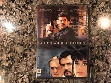La Ciudad Del Crimen New Sealed DVD! Spanish Mexi Action!