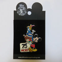 Disney DLR - 75 Years With Mickey Hats Pin