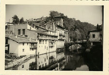PHOTO ANCIENNE - VINTAGE SNAPSHOT - ST JEAN PIED DE PORT PYRÉNÉES NICE 1961