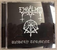 Embalmed-Unholy Torment CD (METAL Devastation, 2010) * RARE programmazione a oggetti