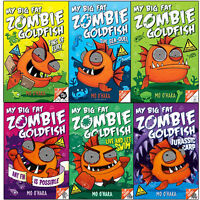 My Big Fat Zombie Goldfish Series(1-6) Collection Mo O'Hara 6 Books Set Pack NEW