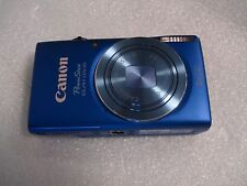 Very Nice Canon PowerShot ELPH 115 IS / IXUS 132 16 MP Digital Camera - Blue