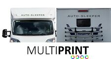 2 X LARGE AUTO SLEEPER MOTORHOME CAMPERVAN DECALS STICKER OTHER COLOURS CARA2