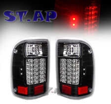 93-99 Ford Ranger Led Tail Lights Brake Lamps Pair New Generation Len Black