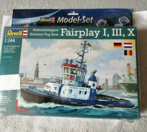 Revell 1/144 Fairplay I III X. Hafenschlepper. Harbour tug boat