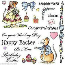 Cute Companions Stamp Set - Romance - Easter - SALE PRICE