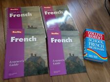 Berlitz Think Talk French Collins Dictionary French