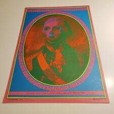 Neon Rose Poster Webb's In Stockton 1967