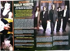 PAULEY PERRETTE => 2  pages 2004 FRENCH CLIPPING / COUPURE DE PRESSE