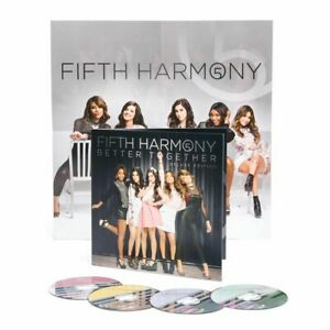 FIFTH HARMONY Better Together 4 EP CD BOX SET Acoustic JUNTOS Remixes       0718
