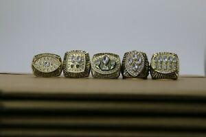 1981 1984 1988 1989 1994 San Francisco 49ers Ring 49ers Super Bowl Ring