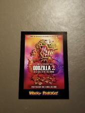 Oddzilla 2 Red Ludlow 16/25 2018 Topps Wacky Packages Go to the Movies