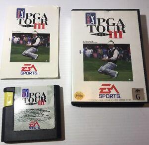 Sega Genesis PGA Tour Golf 3 Complete with Manual And Case