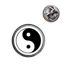 Yin Yang Symbol Lapel Hat Tie Pin Tack