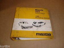 1988 Mazda 323 wagon wiring service shop dealer repair Factory Binder manual