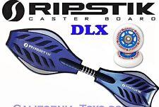 Razor Rikstik DLX Castor Board with Extra set of Ripstik Replacement Wheels BLUE