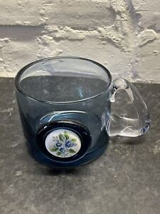 Wedgewood Floral Cameo Glass Tankard