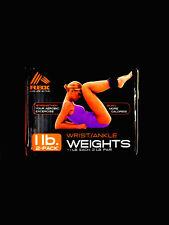 """RBX"" RF-A1002U 1 LB Each 2 LB Pair Wrist/Ankle Weights Purple/Black - New"