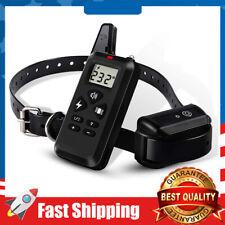 Dog Training Collar Shock  Remote Control 1200 Electric Collar Waterproof