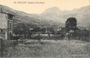 SPAIN - Soller - Payesia y Puig Mayor