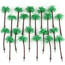 20pcs Ho N Scale 1:87~1:150 Model Coconut Palm Trees Forest 13Cm