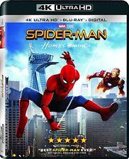 SPIDER-MAN : HOMECOMING  (4K ULTRA HD) - Blu Ray -  Region free