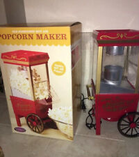 Nostalgia Electrics Old Fashioned Hot Air Movie Time Popcorn Machine ~Table Top