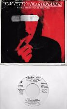 TOM PETTY  Make It Better (Forget About Me)  rare promo 45 with PicSleeve