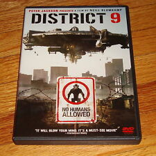 District 9 DVD Peter Jackson