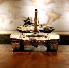 US Stock Fast Free HengLong 1/16 Upgraded Metal Russian T90 RC Tank Model 3938