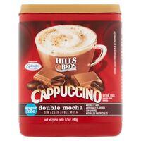 ( 10 Cans ) Hills Bros Sugar Free Double Mocha Cappuccino Beverage Coffee 12 oz