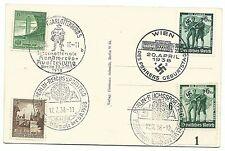 Echte Briefmarken aus dem deutschen Reich (1933-1945) mit Sonderstempel