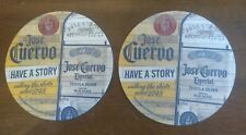 Jose Cuervo Tequila Beer Mat Coaster X2 NEW Mexico
