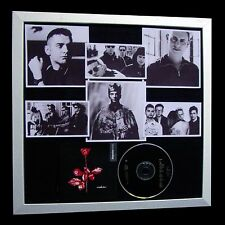 DEPECHE MODE+Violator+LTD+GALLERY QUALITY FRAMED+EXPRESS GLOBAL SHIP+Not Signed