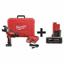 Milwaukee 2472 21xc 48 11 2440 Cordless Cable Cutter Kit Battery Included