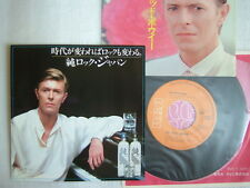 DAVID BOWIE CRYSTAL JAPAN / 7INCH 45RPM TWO SLEEVES NM MINT- CLEAN COPY