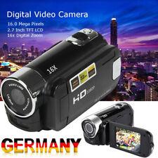"""Tragbar Digital Videokamera 2.7"""" HD 1080P DV Kamera 16X Zoom Profi Camcorder DHL"""