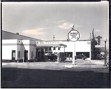 Seattle WA Texaco Service Station 4th and Cherry Olympian Auto Parts B & W Photo