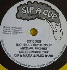 MICHAEL PROPHET RIGHTIOUS REVOLUTION/BEEN TALKING 4 Titles EP SIP A CUP GUSSIE P