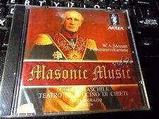 Mozart: Masonic Music Vol 2 CD NEW Coro Del Teatro Marruchino Chieti, F D'Orazio