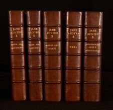 1946 5Vol The Novels of Jane Austen R W Chapman Scholarly Edition Bumpus Binding