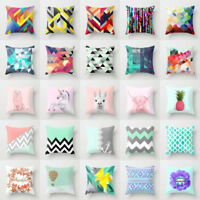 Geometric Yoga animal throw pillows case sofa car waist cushion cover Home Decor