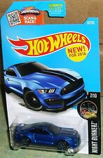 2016 Hot Wheels Ford Mustang Shelby ~ Blue ~ GT350R