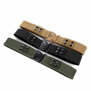 Military Tactical Belt Police Duty Security Guard Modular Enforcement Equipment